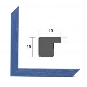 Cadre photo sur mesure BASIC 20 BLEU