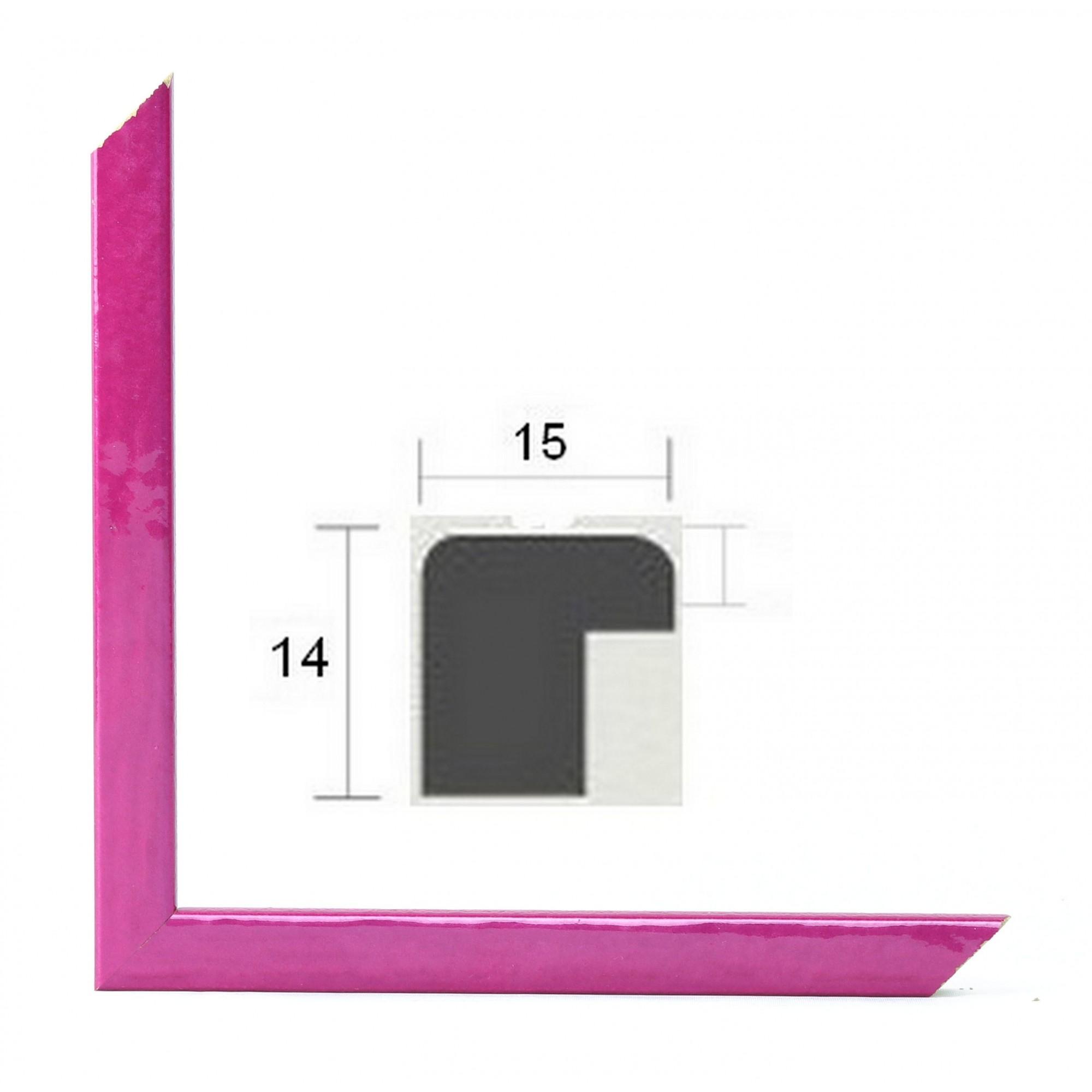 cadre photo sur mesure capri rose. Black Bedroom Furniture Sets. Home Design Ideas